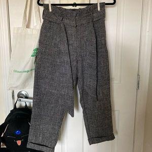 Topshop Tweed Trousers